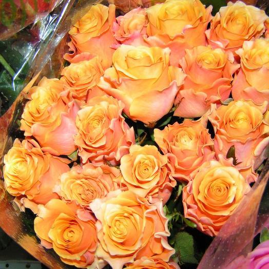 25 роз сорта Карп диен: букеты цветов на заказ Flowwow