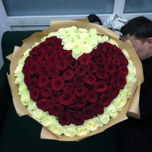 «Сердечко»: букеты цветов на заказ Flowwow
