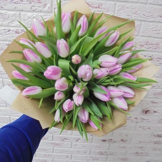 Розовая вуаль: букеты цветов на заказ Flowwow