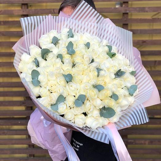 Белое облако: букеты цветов на заказ Flowwow