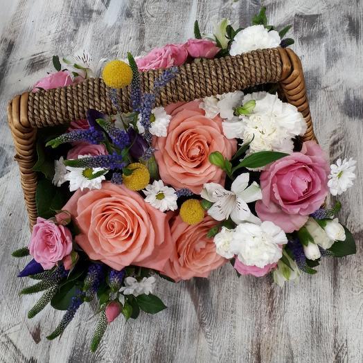 Ягодок лукошко: букеты цветов на заказ Flowwow