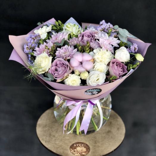 Лавандовая нежность: букеты цветов на заказ Flowwow
