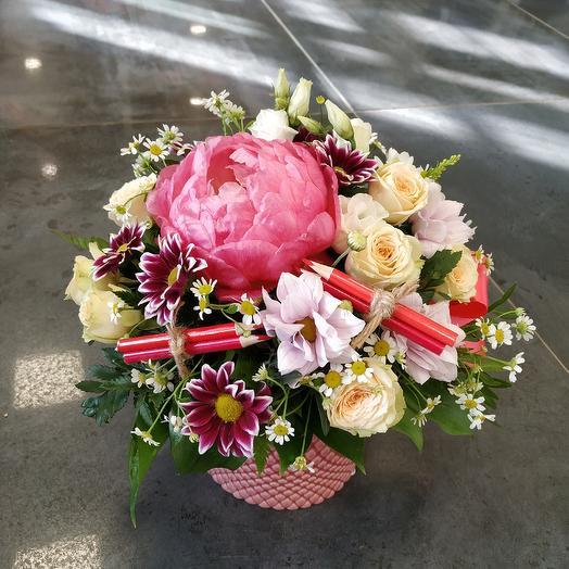 Композиция на 1 сентября: букеты цветов на заказ Flowwow