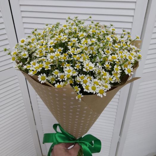 25 ромашек: букеты цветов на заказ Flowwow