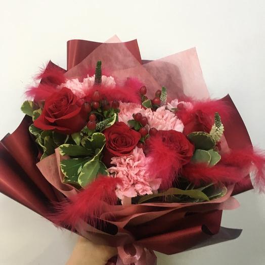Букет «Несгораемая страсть»: букеты цветов на заказ Flowwow