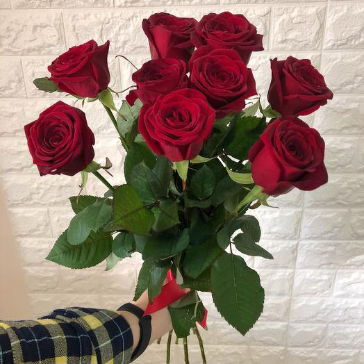 9 red roses: flowers to order Flowwow