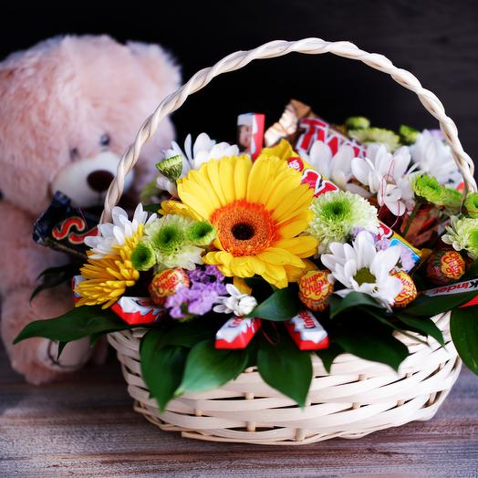 Basket Of Sweet Love