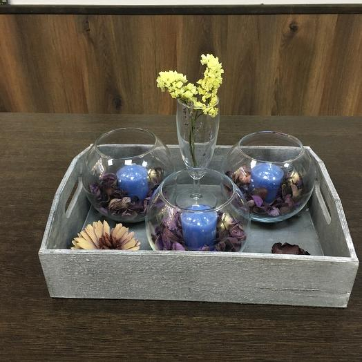Романтик подарочный набор: букеты цветов на заказ Flowwow