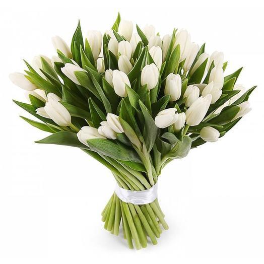 51 white Tulip: flowers to order Flowwow