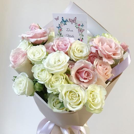 Букетик «Для тебя»: букеты цветов на заказ Flowwow