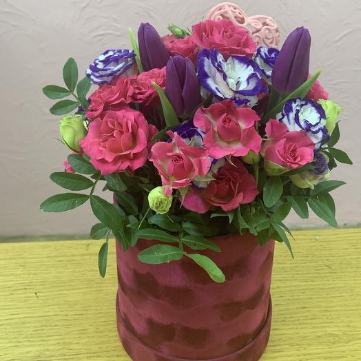 Яркий бархат: букеты цветов на заказ Flowwow