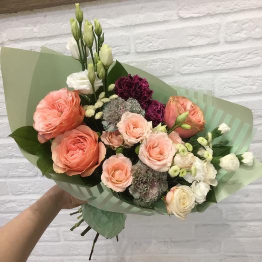 Персиковый джем: букеты цветов на заказ Flowwow