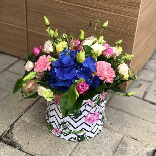 "Коробка с цветами ""Амбассадор"""