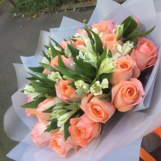 Букет «Ласковый май»: букеты цветов на заказ Flowwow