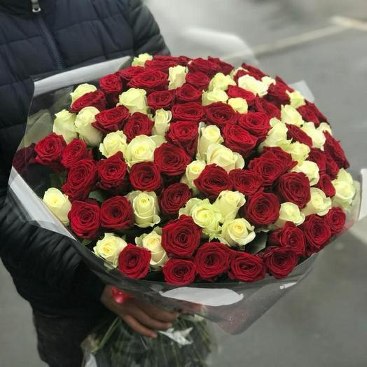 101 штук розы