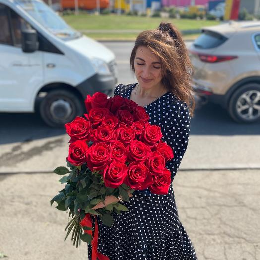 Роза «Любовь» 21 шт