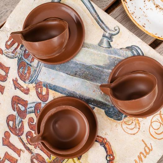 Шоколадная фигурка «Чашки», 75 г