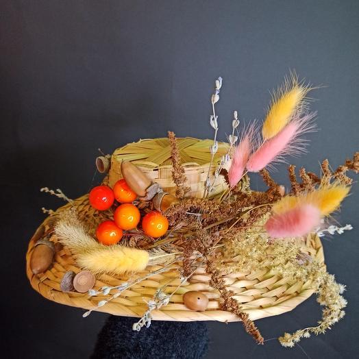 Шляпа декоратианая