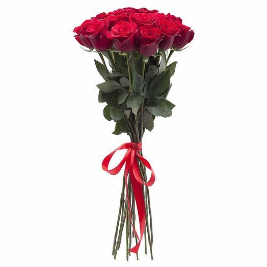 Метровые розы 15 штук