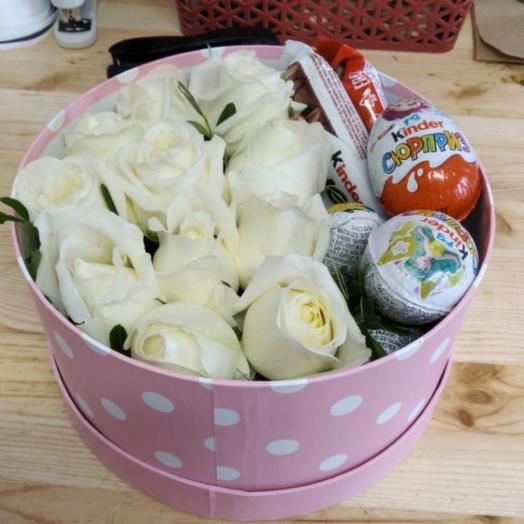 Цветы и сладости 🍭