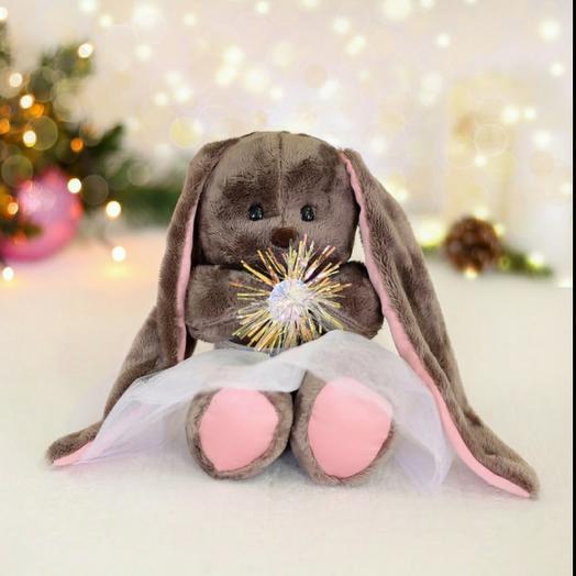 Soft toy snowflake Li, Bunny