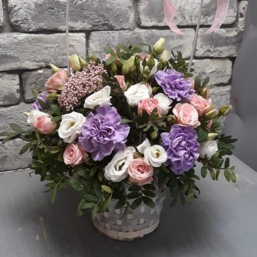 Корзина с цветами «Флоренция»