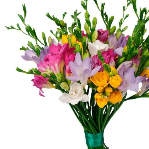 Bouquet of 11 freesias