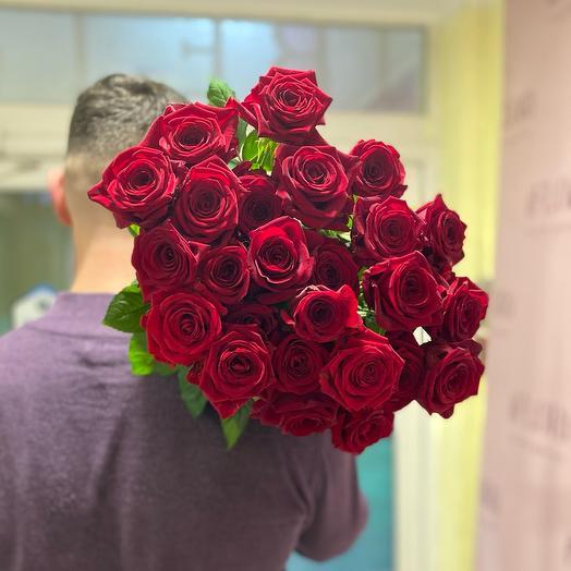 Розы 25 под ленту