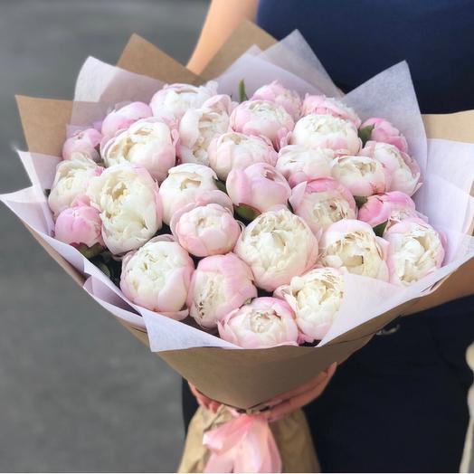 Bouquet of 33 peonies standard Holland