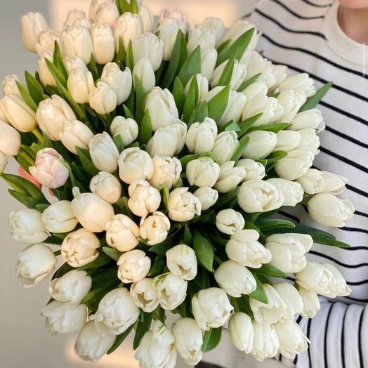 Букет из 99 Тюльпанов