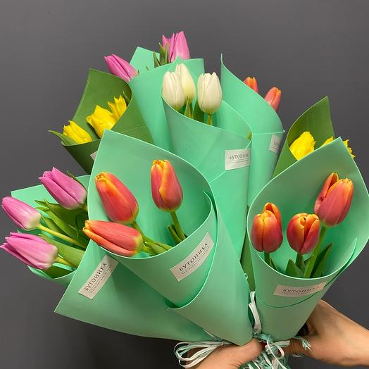 3 тюльпана