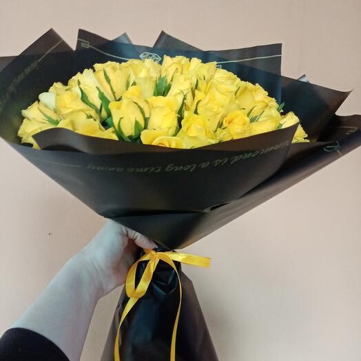 Букет 51 роза Кения