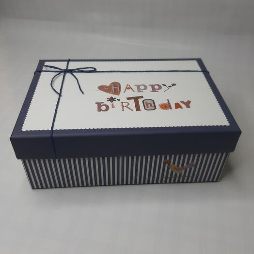 "Коробка подарочная "" Happy Birthday"""