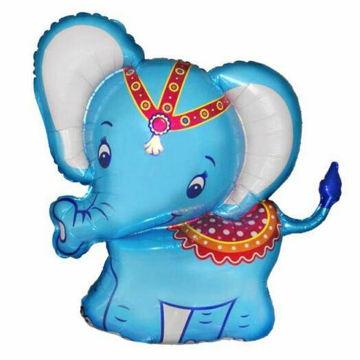 Шар фольгированный Слон