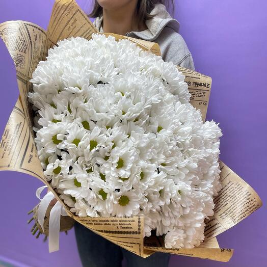 Букет хризантема бакарди