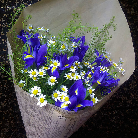 Букет 227: букеты цветов на заказ Flowwow