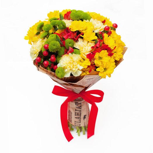 Букет Ярче солнца: букеты цветов на заказ Flowwow