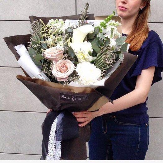 Букет Нежные слова: букеты цветов на заказ Flowwow