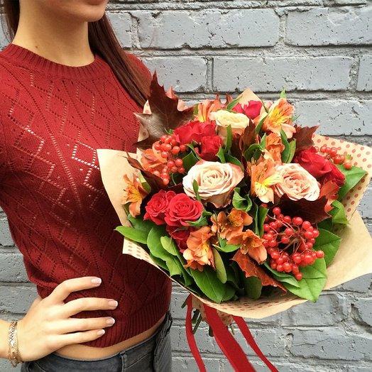 Осеннее вдохновение / Autumn inspiration: букеты цветов на заказ Flowwow