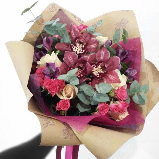 Восхитительный: букеты цветов на заказ Flowwow