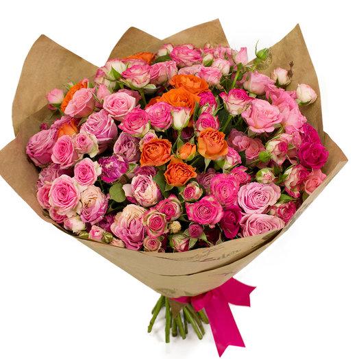 Поцелуй на рассвете: букеты цветов на заказ Flowwow