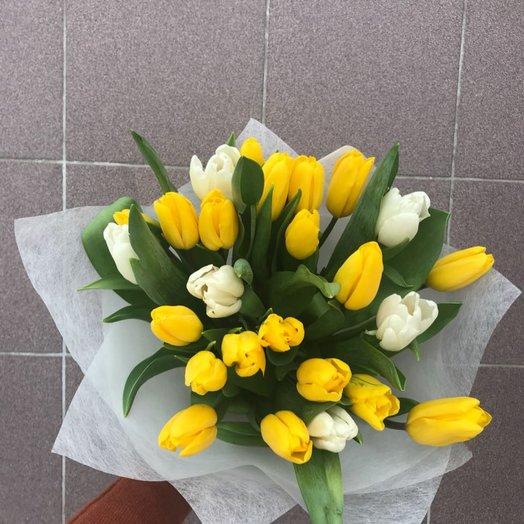 """Букет """"Крестики-нолики"""": букеты цветов на заказ Flowwow"""