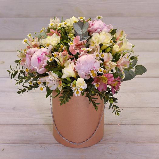 Букет в коробке Лето: букеты цветов на заказ Flowwow