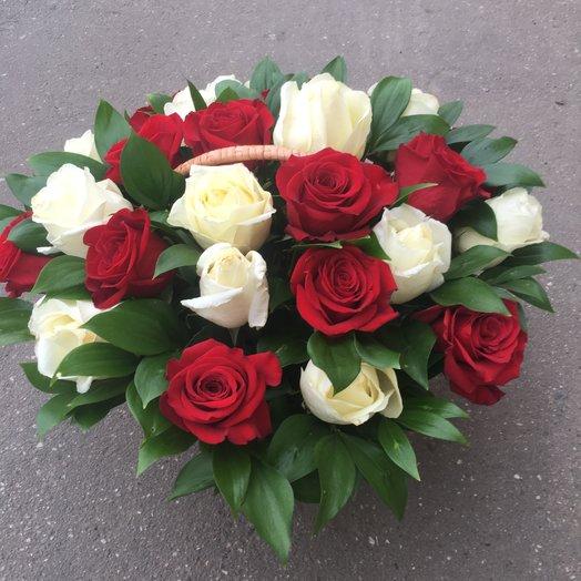 Классический комплимент: букеты цветов на заказ Flowwow