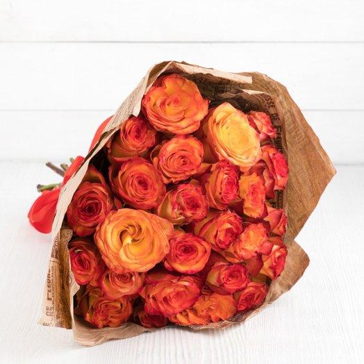15 роз хай-меджик: букеты цветов на заказ Flowwow