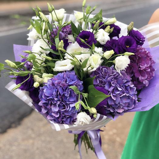 Фиолетовое чудо: букеты цветов на заказ Flowwow