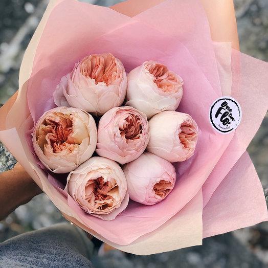 Розы пионовидные: букеты цветов на заказ Flowwow