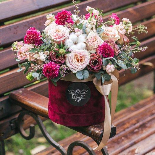 Бархатная мечта: букеты цветов на заказ Flowwow