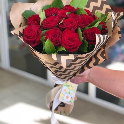Букет «Страстная любовь»: букеты цветов на заказ Flowwow