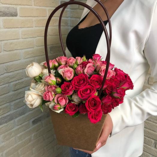 Retrocolor: букеты цветов на заказ Flowwow
